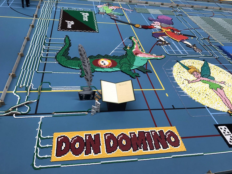 Don Domino at Dutch Domino Team's WDC event